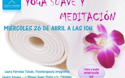 CLASE DE YOGA SUAVE Y MEDITACIÓN