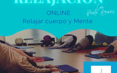 TALLER INICIO DE RELAJACIÓN CUERPO Y MENTE