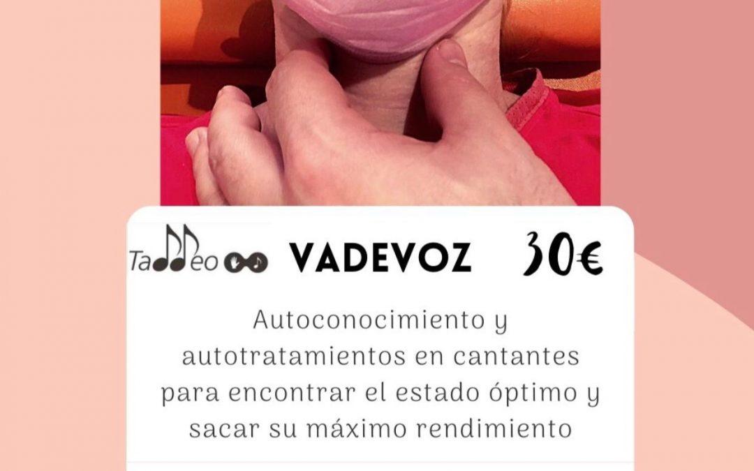 """TALLER PARA CANTANTES """"VA DE VOZ"""""""